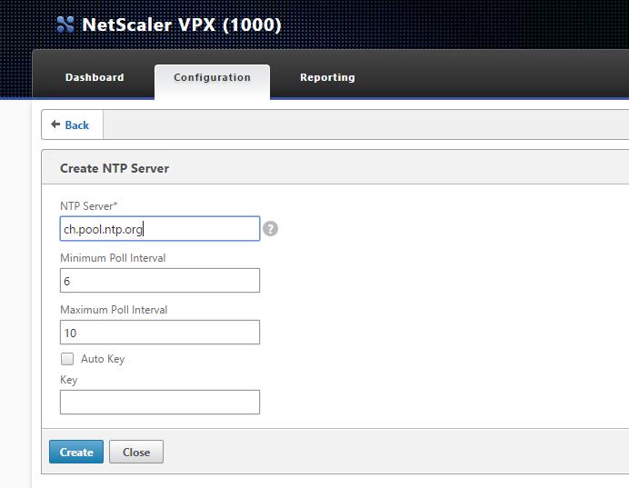 NTP-Server eintragen